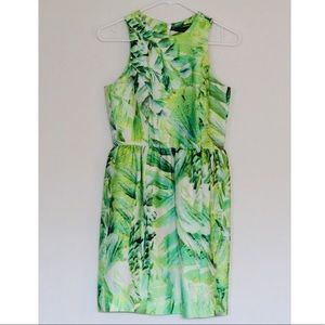 Green jungle print dress 💚